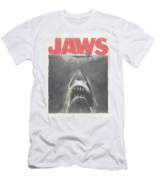 Jaws - Classic Fear Men's T-Shirt (Slim Fit) by Brand A