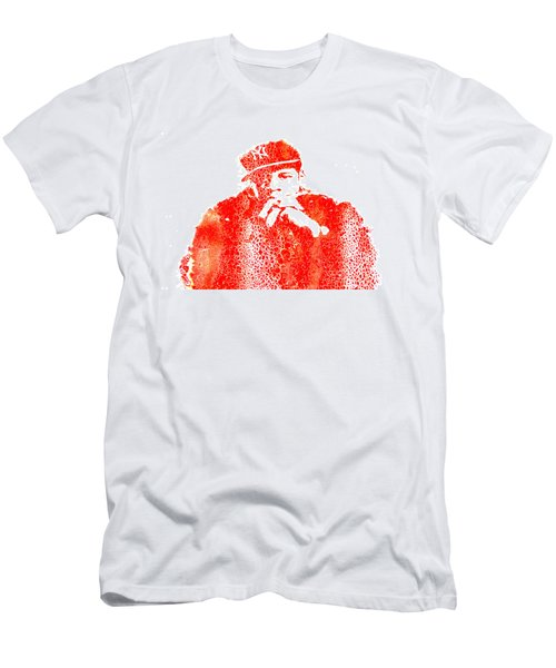 Jay Z Vibes Men's T-Shirt (Slim Fit) by Brian Reaves