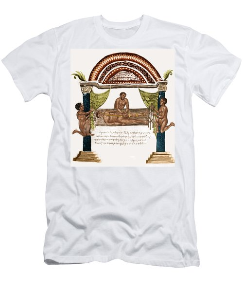 Men's T-Shirt (Slim Fit) featuring the photograph Joint Dislocation Treatment, 1st by Science Source