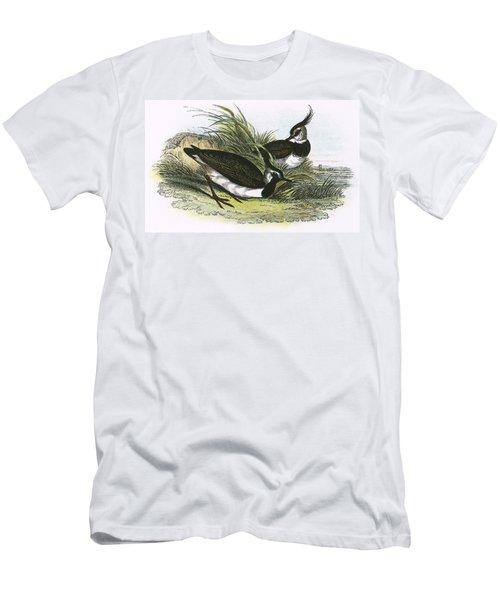 Lapwing Men's T-Shirt (Slim Fit) by English School