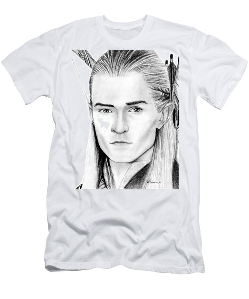 Legolas Greenleaf Men's T-Shirt (Slim Fit) by Kayleigh Semeniuk