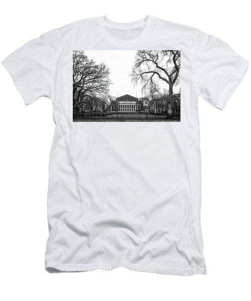 Northrop Auditorium At The University Of Minnesota Men's T-Shirt (Slim Fit) by Tom Gort