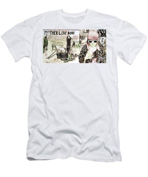 Seattle 1990's Men's T-Shirt (Slim Fit) by Joshua Morton