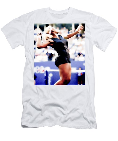 Serena Williams Catsuit Men's T-Shirt (Slim Fit) by Brian Reaves