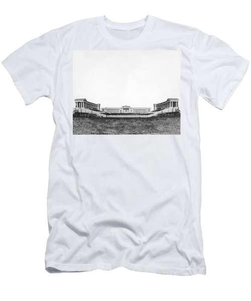 Soldiers' Field And Museum Men's T-Shirt (Slim Fit) by Underwood Archives