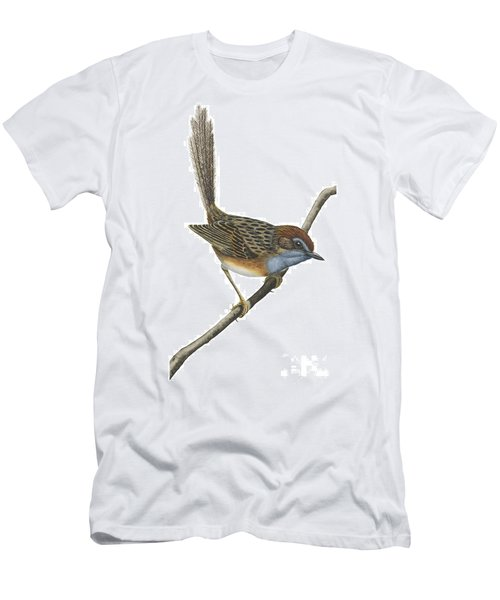 Southern Emu Wren Men's T-Shirt (Slim Fit) by Anonymous