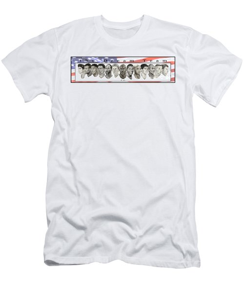 the Dream Team Men's T-Shirt (Slim Fit) by Tamir Barkan
