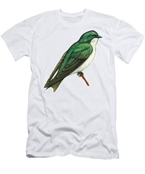 Tree Swallow  Men's T-Shirt (Slim Fit) by Anonymous