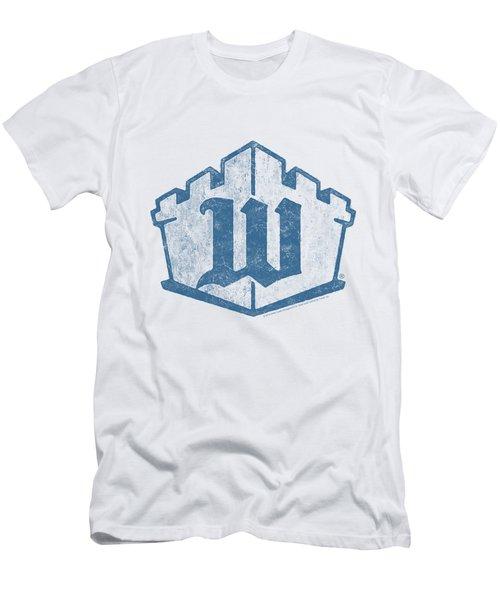 White Castle - Monogram Men's T-Shirt (Slim Fit) by Brand A