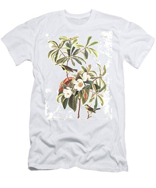 Bachman's Warbler  Men's T-Shirt (Slim Fit) by John James Audubon