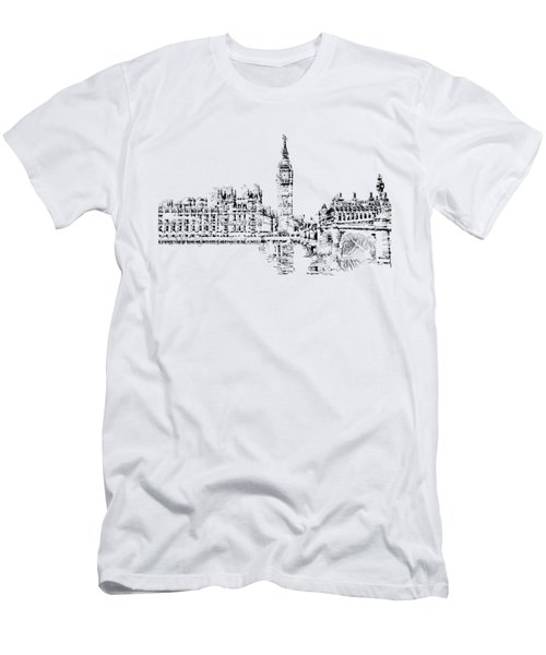 Big Ben Men's T-Shirt (Slim Fit) by ISAW Company