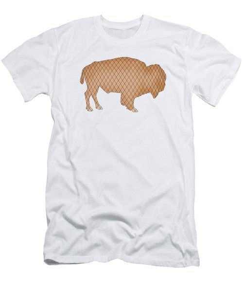 Bison Men's T-Shirt (Slim Fit) by Mordax Furittus