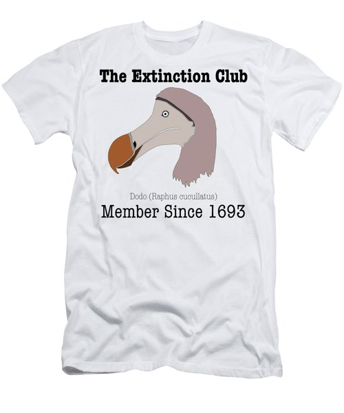 The Extinction Club - Dodo Men's T-Shirt (Slim Fit) by Marcus England