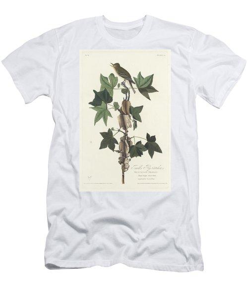 Traill's Flycatcher Men's T-Shirt (Slim Fit) by John James Audubon