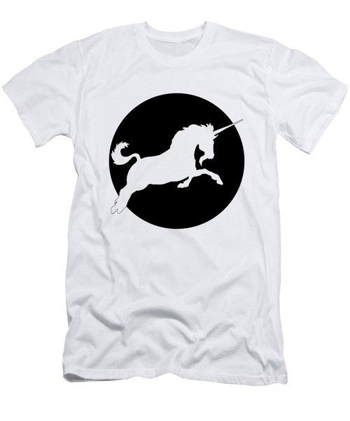 Unicorn Men's T-Shirt (Slim Fit) by Mordax Furittus