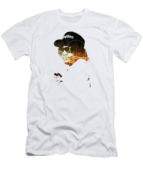 Eazy E Straight Outta Compton Men's T-Shirt (Slim Fit) by Marvin Blaine