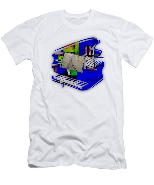 Piano Collection Men's T-Shirt (Slim Fit) by Marvin Blaine