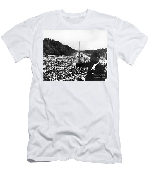 Martin Luther King, Jr Men's T-Shirt (Slim Fit) by Granger