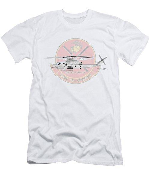 H-1 Upgrade Men's T-Shirt (Slim Fit) by Arthur Eggers