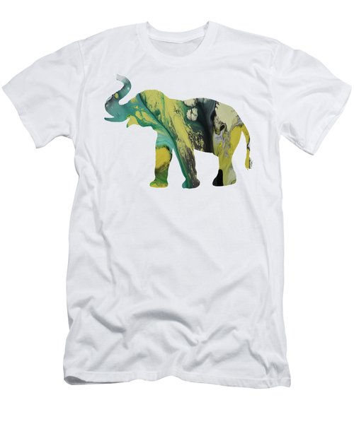 Elephant Men's T-Shirt (Slim Fit) by Mordax Furittus