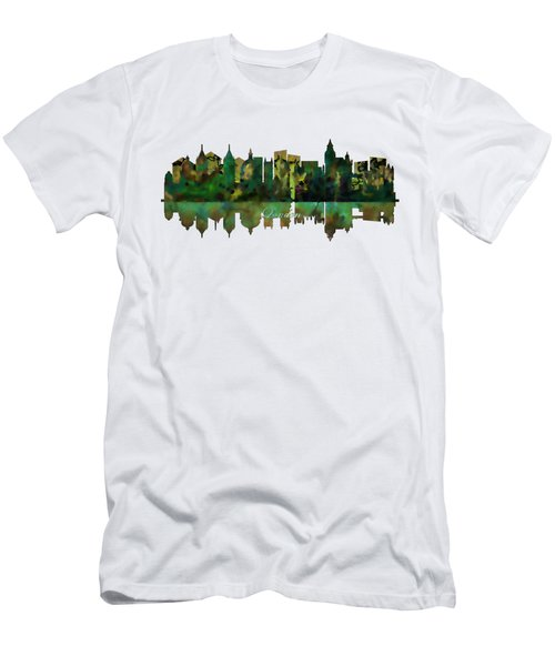 London England Skyline Men's T-Shirt (Slim Fit) by John Groves