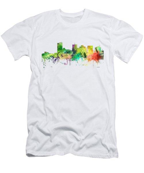 Phoenix Arizona Skyline Men's T-Shirt (Slim Fit) by Marlene Watson