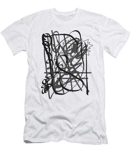 Abstract Men's T-Shirt (Slim Fit) by Oksana Demidova