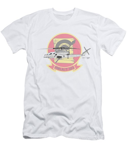 Ah-1z Viper Men's T-Shirt (Slim Fit) by Arthur Eggers