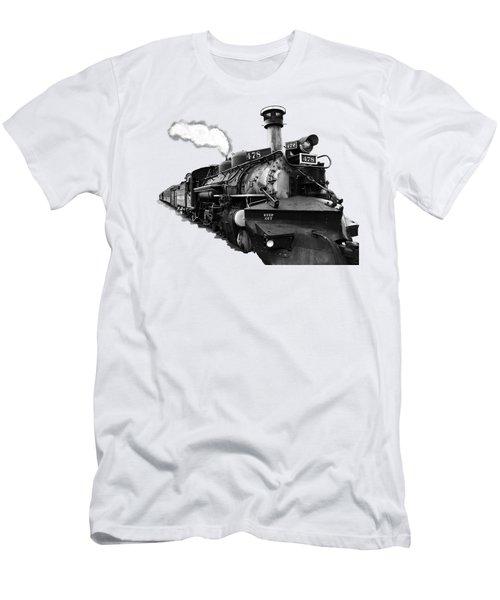All Aboard Men's T-Shirt (Slim Fit) by Paul Lamonica