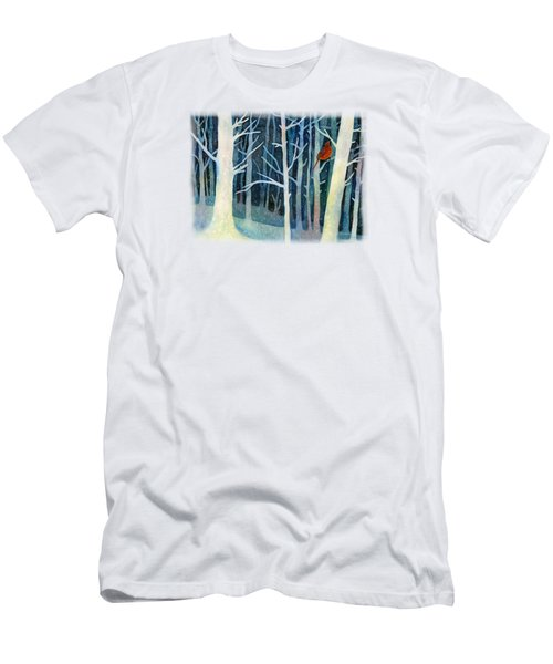 Quiet Moment Men's T-Shirt (Slim Fit) by Hailey E Herrera