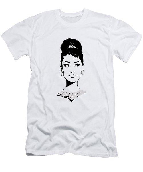 Audrey Men's T-Shirt (Slim Fit) by Rene Flores