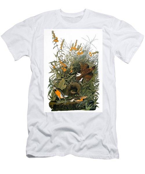 Audubon: Meadowlark Men's T-Shirt (Slim Fit) by Granger