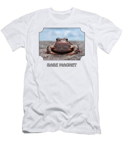 Babe Magnet - Blues Men's T-Shirt (Slim Fit) by Gill Billington