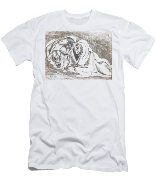 betrayal. May, 1996 Men's T-Shirt (Slim Fit) by Tatiana Chernyavskaya