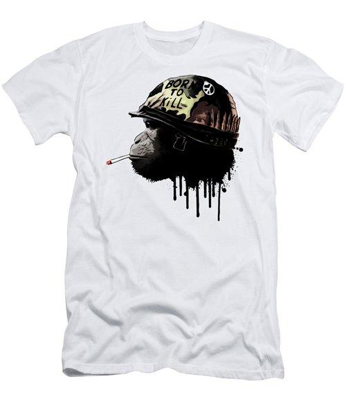Born To Kill Men's T-Shirt (Slim Fit) by Nicklas Gustafsson