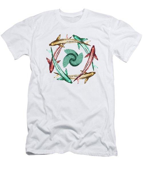 Circle Men's T-Shirt (Slim Fit) by Deborah Smith
