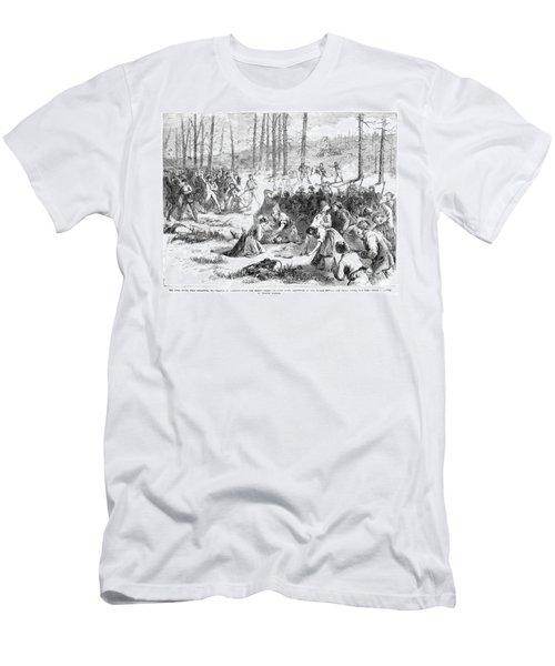 Coal Miner Strike, 1871 Men's T-Shirt (Slim Fit) by Granger