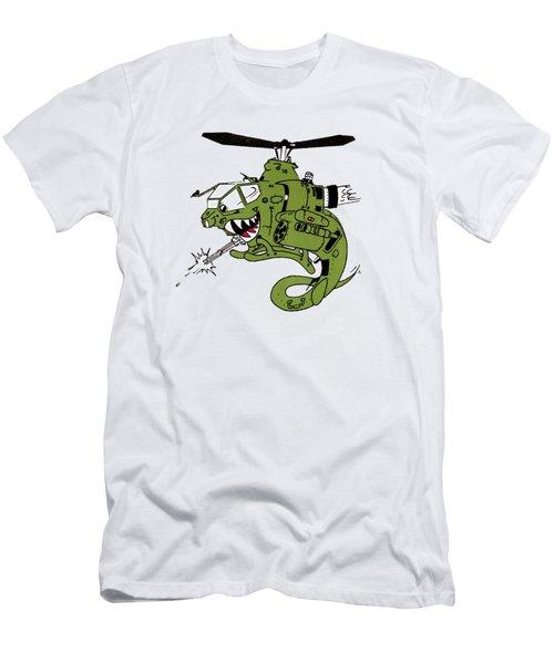 Cobra Men's T-Shirt (Slim Fit) by Julio Lopez
