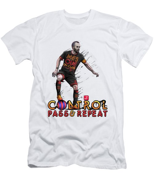 Control Pass And Repeat Men's T-Shirt (Slim Fit) by Akyanyme
