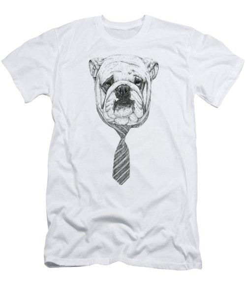 Cooldog Men's T-Shirt (Slim Fit) by Balazs Solti