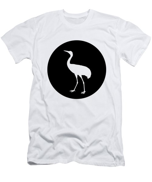Crane Men's T-Shirt (Slim Fit) by Mordax Furittus
