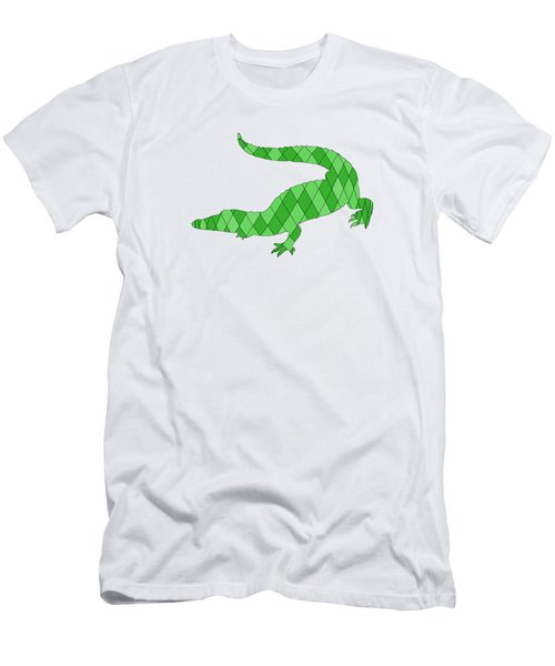 Crocodile Men's T-Shirt (Slim Fit) by Mordax Furittus