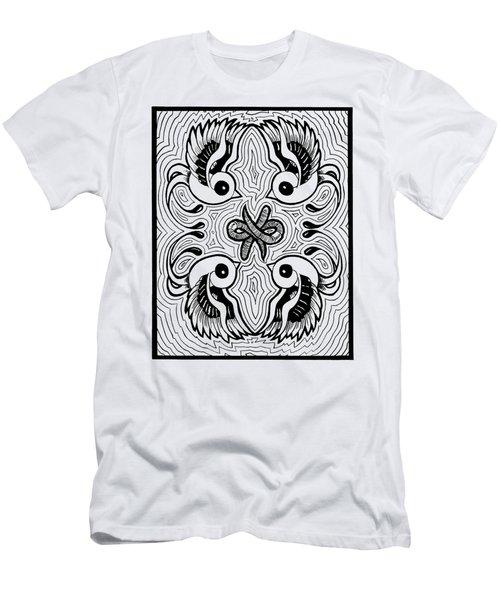 Da Boids Men's T-Shirt (Slim Fit) by Vicki Von Doom