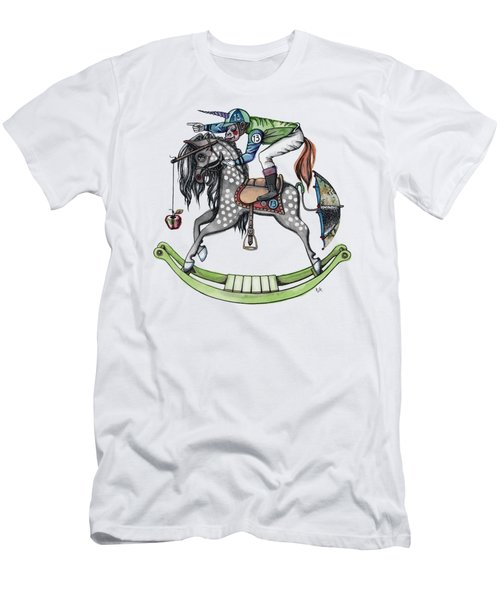Day At The Races Men's T-Shirt (Slim Fit) by Kelly Jade King