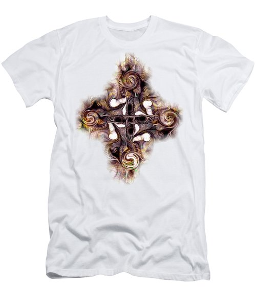 Desert Cross Men's T-Shirt (Slim Fit) by Anastasiya Malakhova