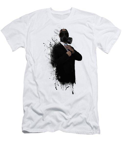 Dissolution Of Man Men's T-Shirt (Slim Fit) by Nicklas Gustafsson