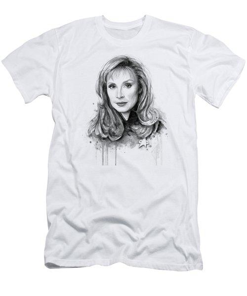 Doctor Beverly Crsuher Men's T-Shirt (Slim Fit) by Olga Shvartsur