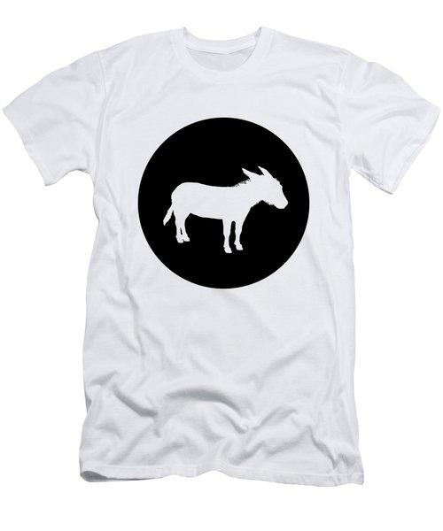 Donkey Men's T-Shirt (Slim Fit) by Mordax Furittus