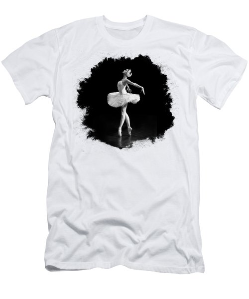 Dying Swan I T Shirt Customizable Men's T-Shirt (Slim Fit) by Clare Bambers