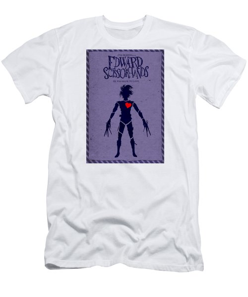 Edward Scissorhands Alternative Poster Men's T-Shirt (Slim Fit) by Christopher Ables